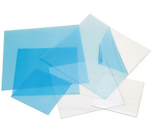 Craft plastic sheets 12x12 4 pkg clear 020 f190626 for Clear plastic sheets for crafts