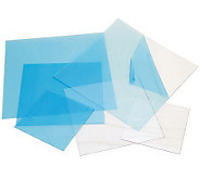 Craft Plastic Sheets 12X12 4/Pkg-Clear .020 - F190626