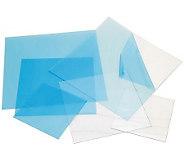 Craft Plastic Sheets 12X12 4/Pkg-Clear .020 - F190626