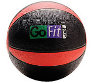Gofit 8-lb Medicine Ball & Core Training DVD - F195426