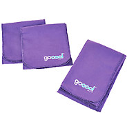 GoCool S/3 Instant Chill Reusable Towels (1) Jumbo & (2) Wraps - F11828
