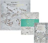 Millie Marotta Wild Savannah Adult Coloring Books & Journal Set - F12328