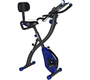 Ships 1/31 FITNATION Recumbent Flex Bike with App Experience - F13228