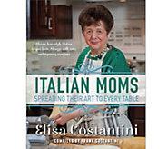 Italian Moms Cookbook by Elisa Costantini - F12629