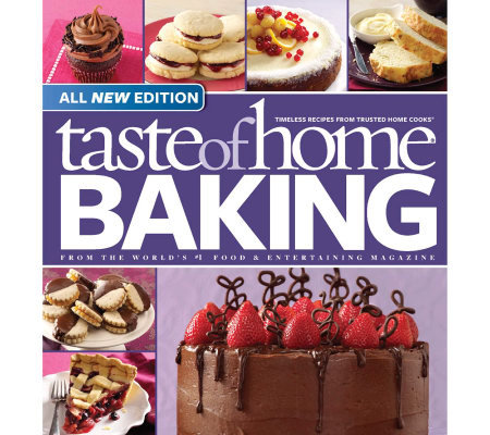 Taste of Home All New Baking Book & 1-Year Free Subscription