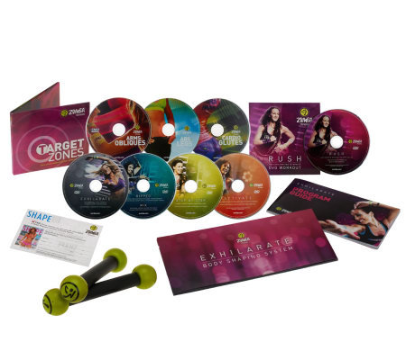 Zumba Fitness Exhilarate Dvd Zumba Fitness Exhilarate Body
