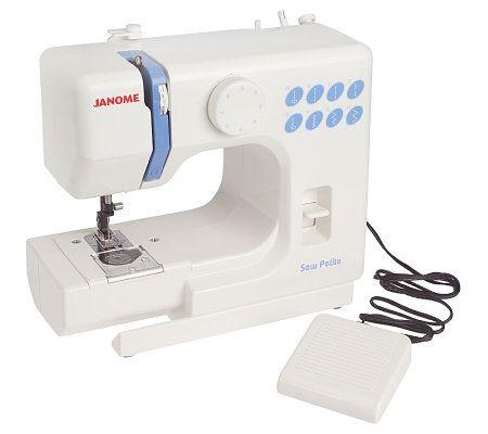 sew petite portable mini sewing machine by janome. Black Bedroom Furniture Sets. Home Design Ideas