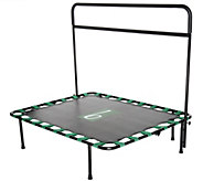 b-bounder Trampoline Rebounder with Balance Barre and DVD - F11730