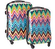 As Is Heys Hardside 21 & 26 Fashion Spinner Luggage Set - F198430