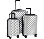 Triforce 3-Pc Hardside Spinner Luggage Set - Avignon - F13033