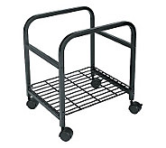 Cropper Hopper Heavy Duty Rolling Cart - Black - F168333
