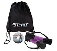 Fit Kit Adjustable Resistance Trainer w/ DVD by Fit Trend - F12834