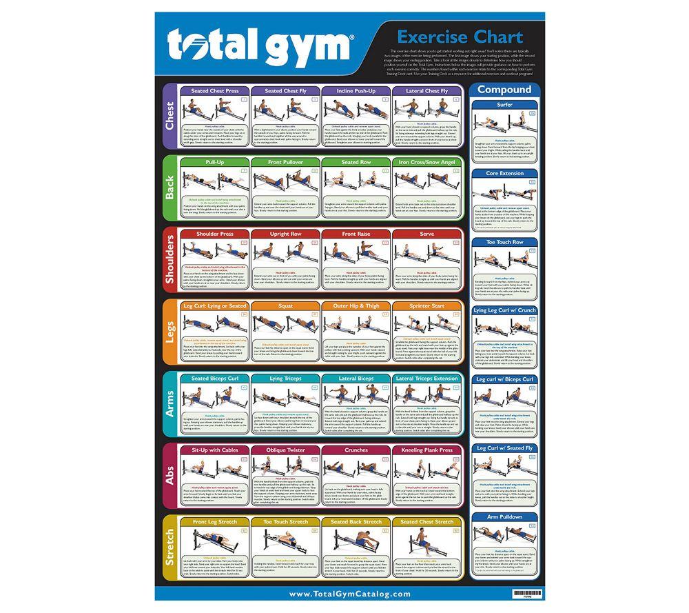 total gym health & fitness qvc com total gym 1700 club at Total Gym Parts Diagram
