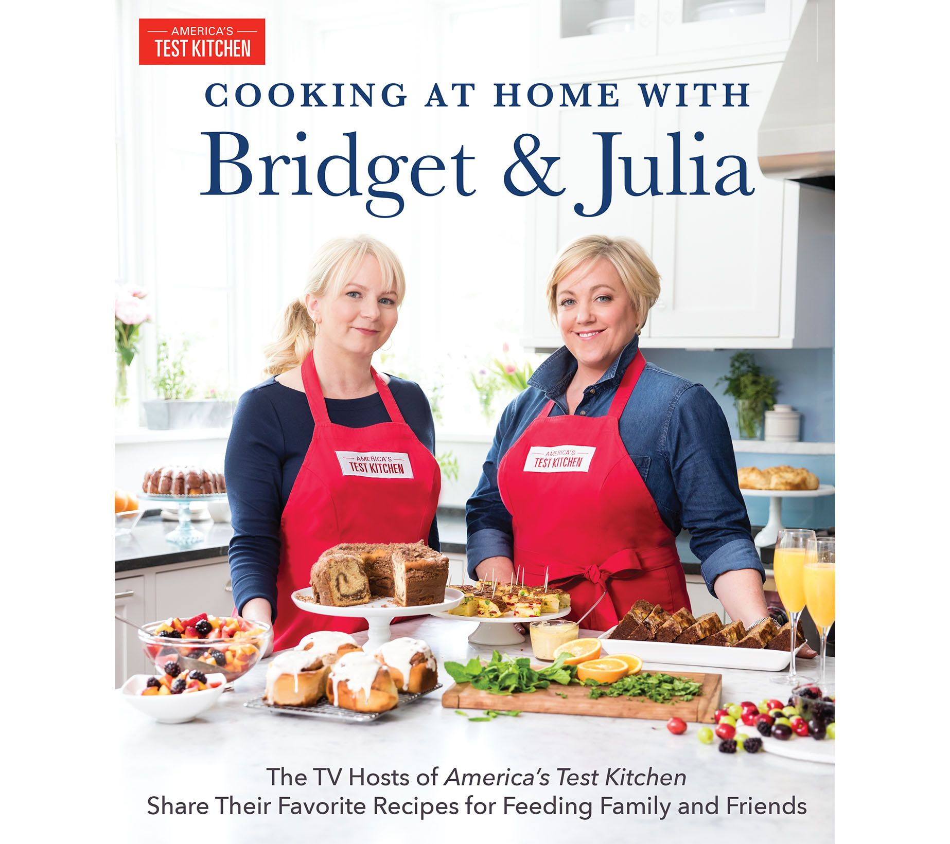 "Cooking at Home with Brid and Julia"" by ATK Page 1 — QVC"