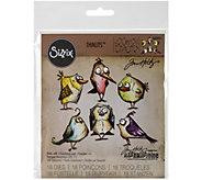 Sizzix Framelits 18-Piece Bird Crazy Die Set byTim Holtz - F249935