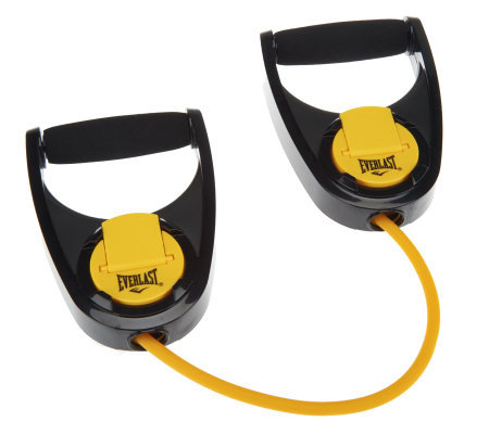 Everlast Quick Adjust Resistance Band w/Instructional Guide & DVD