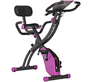FITNATION Flex Bike Ultra w/ Resistance Bands and Heart Rate - F12636
