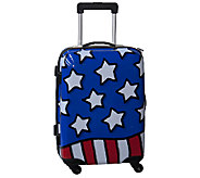 Ed Heck Stars n Stripes Hardside 21 Spinner Luggage - F249036