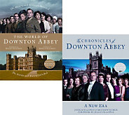 Set of 2 Downton Abbey Hardcover Season 2 & 3 Books - F11137