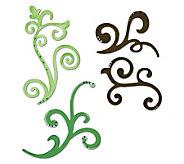 Sizzix Sizzlits Die Set 3/Pkg-Decorative Flourishes - F244537