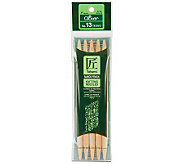 Bamboo Double Point Knitting Needles 7 5/Pkg-Size 13 - F247138