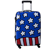 Ed Heck Stars n Stripes Hardside 25 Spinner Luggage - F249038