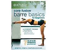 Exhale: Core Fusion - Barre Basics for Beginners DVD - F249238