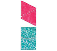 GO! Fabric Cutting Dies - Half Square - 3 Finished Triangle - F192239