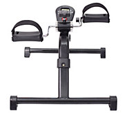HealthSmart Bicycle-Style Pedal Exerciser with Digital Monitor Display - F11440