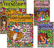 Fox Chapel Publishing Set of 4 Coloring Books by Suzy Toronto - F12340