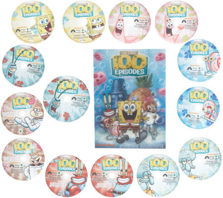 SpongeBob SquarePants First 100 Episodes DVD Collection ...