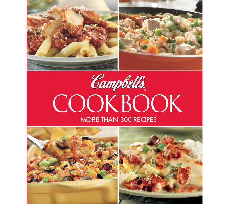 quot campbell s kitchen cookbook quot with 300 recipes qvc com