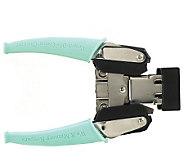 Crop-A-Dile Corner Chomper Tool - Aqua - F192341