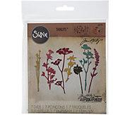 Sizzix Thinlits 7-Piece Wildflower Die Set by Tim Holtz - F249941