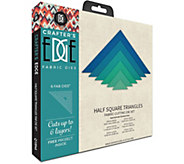 Crafters Edge Half Square Triangles Fabric Dies - F250341