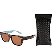 Haven Fits Over Hollywood Blvd Sunglasses with Soft Case by Foster Grant - F12645