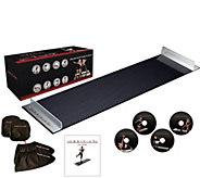 Obsidian 5 Slide Board with 4 DVDs, Booties & Mitts - F12745