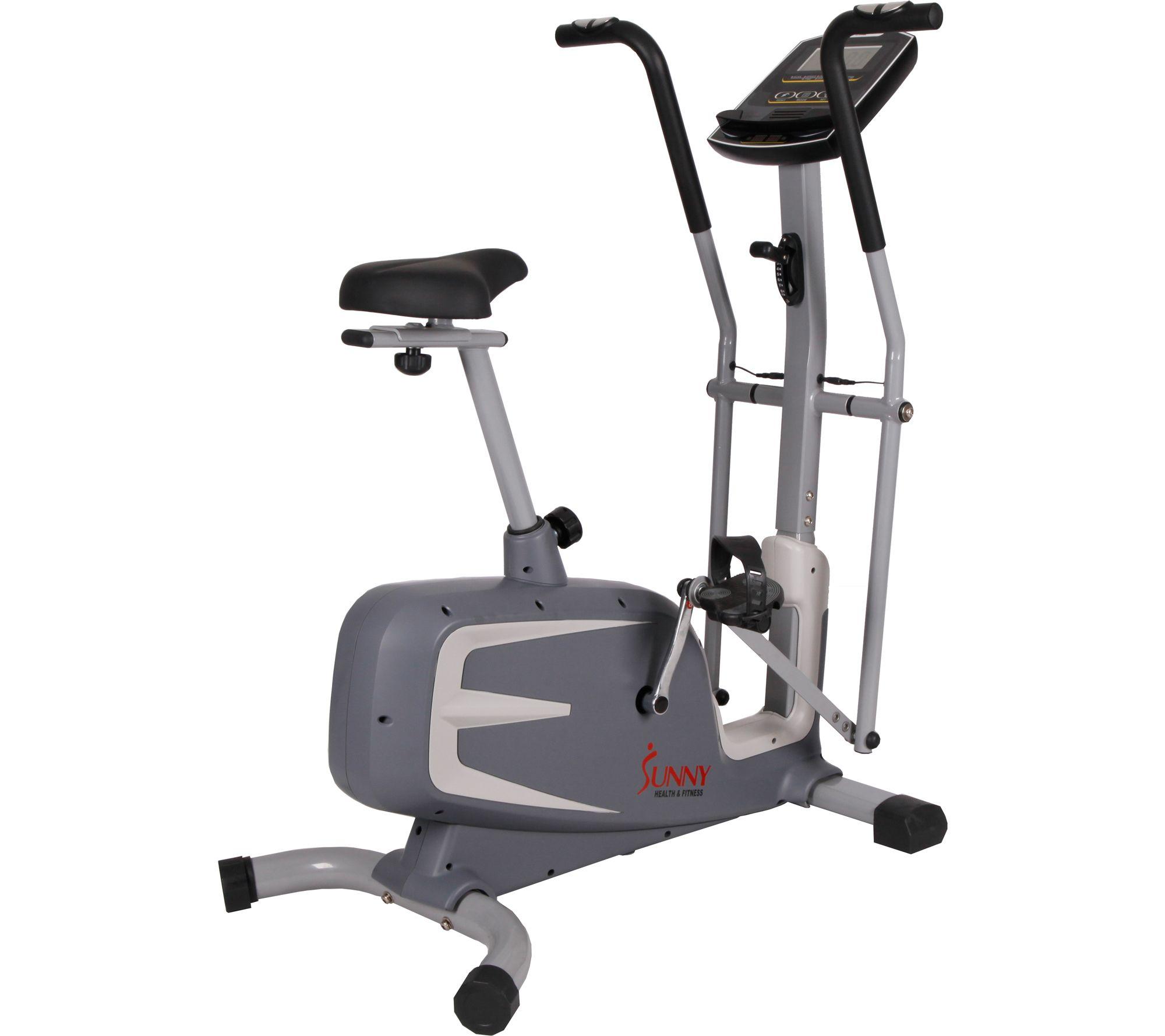 Sunny Health & Fitness Cross Training MagneticUpright Bike