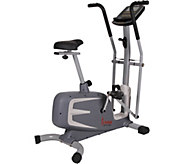 Sunny Health & Fitness Cross Training MagneticUpright Bike - F250045