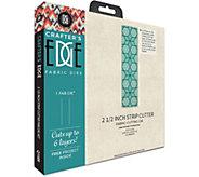 Crafters Edge 2-1/2 Strip Cutter Fabric Die - F250345