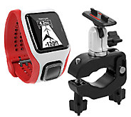 TomTom Multi-Sport Cardio GPS Watch and Bike Mount - F249246