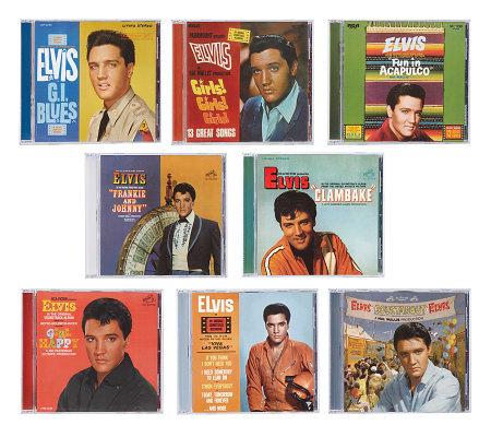 Elvis Presley Movie Soundtrack 8 Cd Mega Bundle Qvc Com