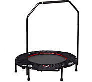 Urban Rebounder Elevated Trampoline with 23 Workouts - F12348