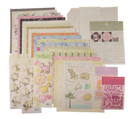 Anna Griffin Scrapbook Layouts and Cardmaking Kit