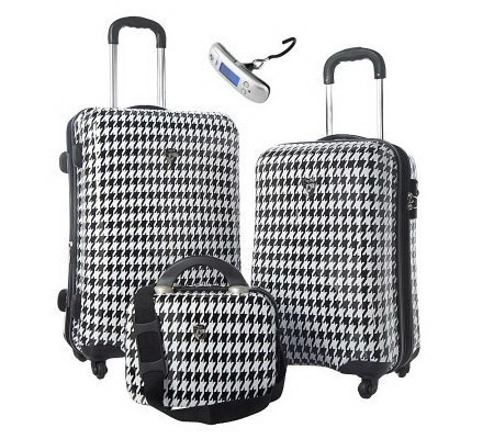 Heys 2-pc Hardside Spinner Luggage Set with Vanity Case and Scale