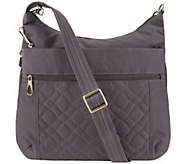Travelon Anti Theft Quilted Crossbody with Expansion - F13150