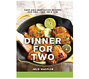 Dinner for Two Cookbook by Julie Wampler - F12151