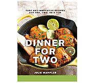 Dinner for Two Cookbook by Julie Wampler - F12151