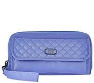 Lug Zip Around RFID Wallet - Quickstep - F12251