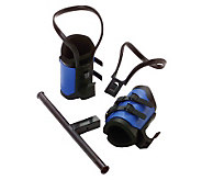 Teeter Hang Ups EZ-Up Gravity Boots with Conversion Bar - F246451